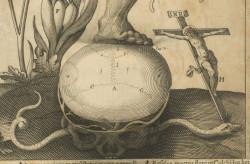 Fig. 2a. Visio Secunda, detail of skull.