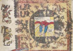 Fig. 1b. Enrique Chagoya, detail of Tales from the Conquest/Codex (1992). ©Enrique Chagoya.