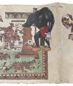 Fig. 1c. Enrique Chagoya, detail of Tales from the Conquest/Codex (1992). ©Enrique Chagoya.