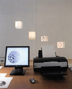 Fig. 8. Superflex, Copy Light/Factory (2008) installation, from Print/Out: 20 Years in Print.