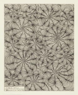 Chris Ofili, Brooklyn 211195, from the series London-Germany- USA (1993–1995), etching, 24.5 x 19.5 cm. Edition of 10. Printed by Paupers Press, published by the artist.