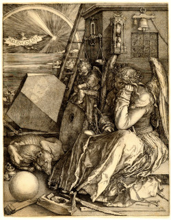 Albrecht Dürer, Melencolia I (1514), engraving. The Metropolitan Museum of Art, Harris Brisbane Dick Fund, 1943 (43.106.1). Image ©The Metropolitan Museum of Art.