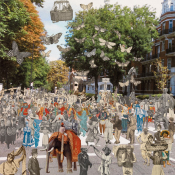 Peter Blake, Abbey Road from The London Suite (2012).