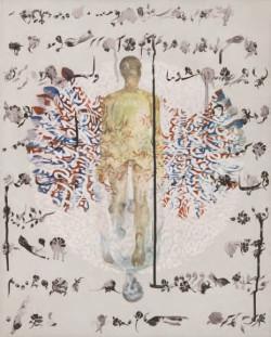 Shazia Sikander, Mirror Plane (2012).