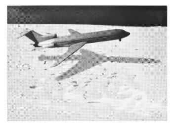 Paul Coldwell, Means of Escape—Plane (2001), lithography with line block, image 36 x 52 cm, sheet 42 x 62 cm. Edition of 25. Printed and published by Paupers Press, London.