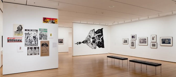 """Fig. 3. Installation view of """"Impressions from South Africa."""" Photo: Jason Mandella."""