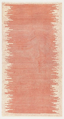 Fig. 5. Paul Edmunds, The Same but Different (2001), linoleum cut, 182.1 × 95.6 cm. Edition of 10. Published by the artist, printed by Artist Proof Studio. The Museum of Modern Art, New York. Alexandra Herzan Fund, ©2011 Paul Edmunds.