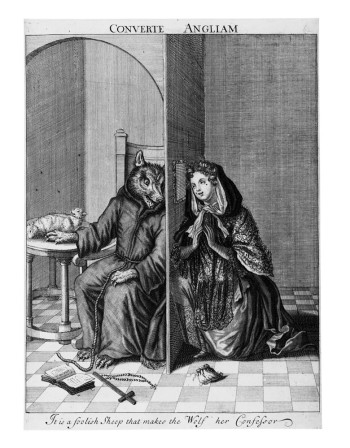 Fig. 5. Anonymous, Converte Angliam (c. 1685), etching and engraving. British Museum, London, ©Trustees of the British Museum.