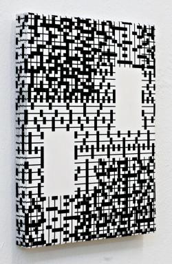 Gesa Puell, Punkt zu Linie (Point to Line) (2013).