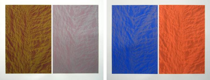 Ann Aspinwall, Fortuny I and Fortuny II (2014).