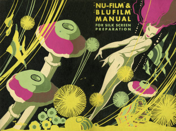 Brochure on the uses of Nufilm and Blufilm. Undated (c.1940 or 1950s). Blufilm was developed around 1937.