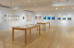 """Ed Ruscha: Prints and Photographs"" installation view. ©Ed Ruscha. Courtesy Gagosian Gallery. Photo: Robert McKeever."