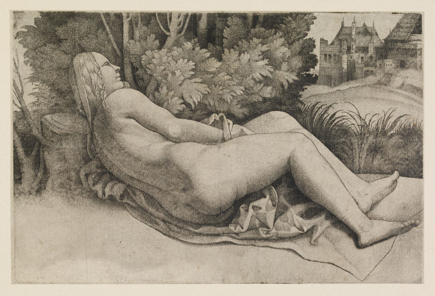 Giulio C&agnola Venus reclining in a landscape a nude seen & Poetic Printmaking: Arcadia and the Engravings of Giulio ... islam-shia.org
