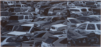 Wayne Gonzales, Parking Lot (2014).