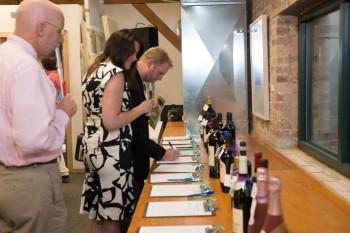 2014 Wine Auction at Tandem Press, Madison. Photo: Jay Jurado.