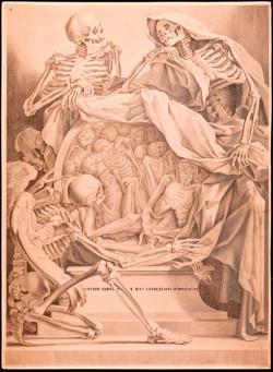 Fig. 4. François Andriot (attr.), Anatomia per uso et intelligenza del disegno (c. 1691), after Charles Errand, burin on copper, 32.5 x 23.8 cm. Courtesy of Istituto Nazionale per la Grafica, Rome, VIC 1164/2.
