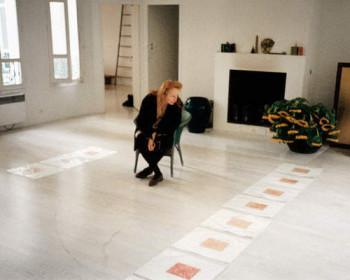 Fig. 6. Rebecca Horn in her Paris studio, 1998.