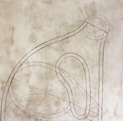 Martin Puryear, Untitled VI, state 1 (2012).