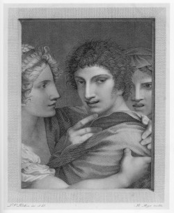 Barthélemy Roger, after Pierre-Paul Prud'hon, L'Amour séduit l'Innocence (Innocence Seduced by Love) (Salon of 1812), engraving, 25 x 20 cm. Washington, DC, National Gallery of Art Library, Department of Image Collections.