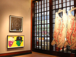 """The Big Picture Show"" installation view, 1285 Avenues of Americas Art Gallery (through December 5)."