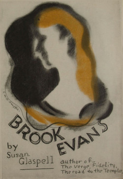 Fig. 7. E. McKnight Kauffer, Brook Evans (1928), book jacket, 22 x 13 cm. Published by Victor Gollancz, London. Victoria and Albert Museum, London. Archives of Art and Design: AAD/1995/8/05/568. © Estate of Edward McKnight Kauffer.