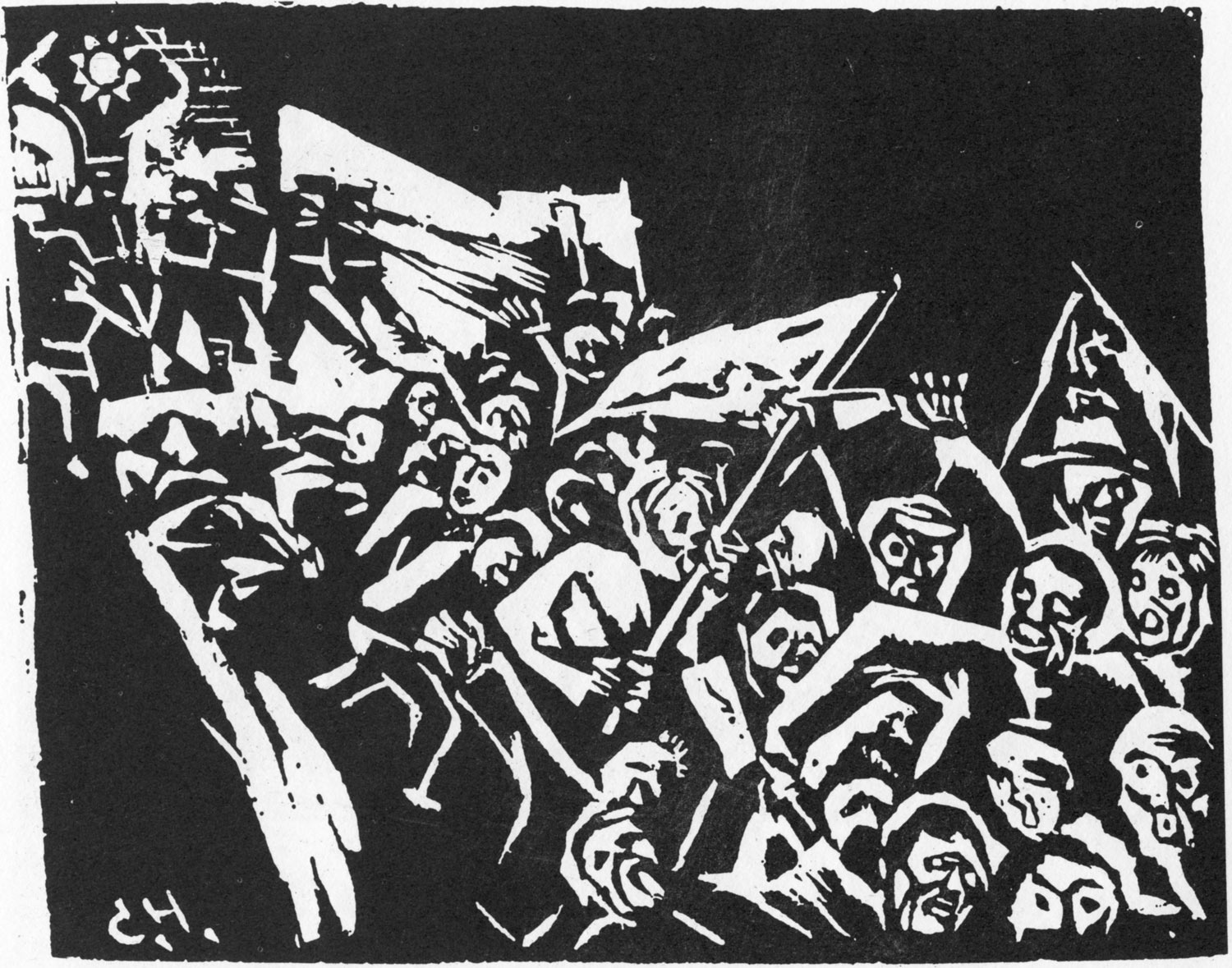 From new woodcut to the no name group resistance medium and message in 20th century china