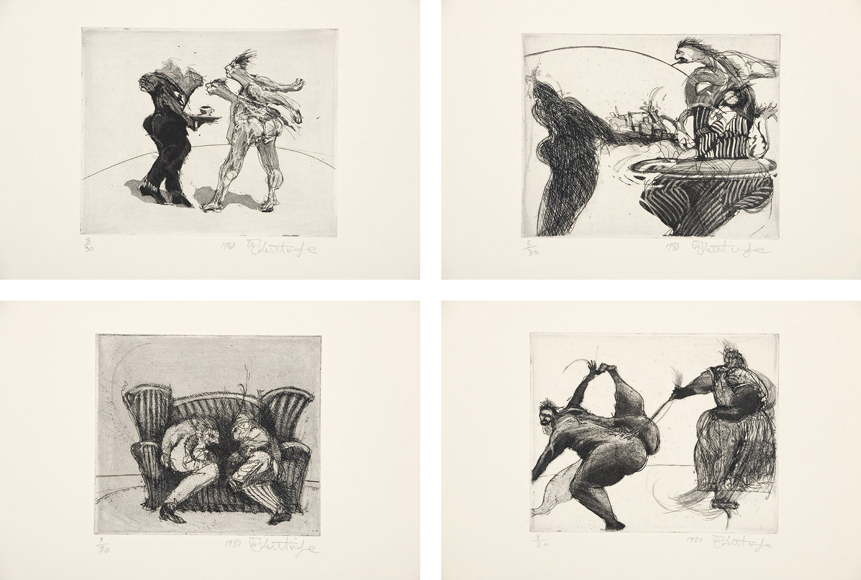 William Kentridge Drawing Has Its Own Memory Art In Print
