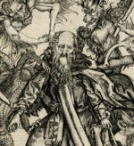 After Martin Schongauer, detail from The Tribulations of St. Antony (ca. 1480–1500), engraving, 28.6 cm x 21.5 cm. ©Trustees of the British Museum.